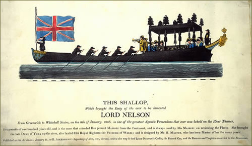 Lord Nelsons Funeral